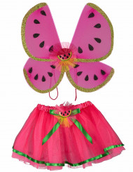 Watermeloen vleugels en tutu voor meisjes