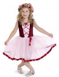 Middeleeuws tutu kostuum voor meisjes
