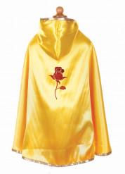 Rode en gele omkeerbare prinsessencape voor meisjes