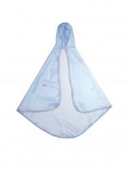 Luxe blauwe cape voor meisjes