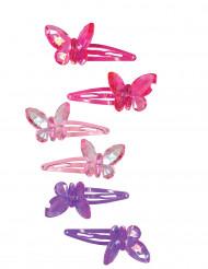 2 vlinder haarspelden