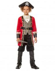 Luxe piraten kapitein kostuum voor jongens
