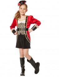 Luxe piraten kapitein kostuum voor meisjes