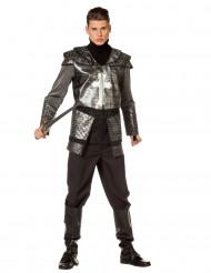 Ridder in harnas kostuum voor mannen