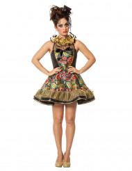 Barok clown kostuum voor vrouwen