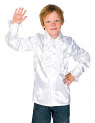 Witte blouse met franjes voor kinderen