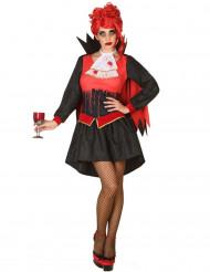 Bloederig vampier kostuum voor vrouwen