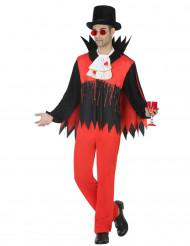 Bloederig vampier kostuum voor mannen