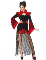 Kant vampier kostuum voor vrouwen