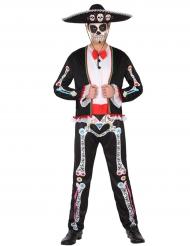 Dia de los Muertos mannen kostuum