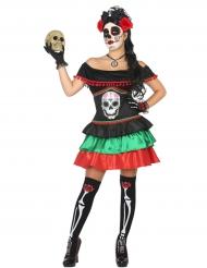 Dia de los Muertos jurk voor dames