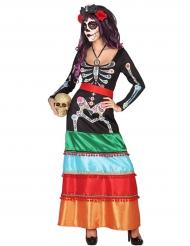 Dia de los Muertos Mexicaans kostuum voor vrouwen