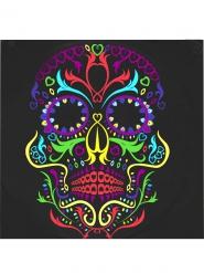 20 kleurrijke skelet Dia de los Muertos servetten