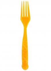6 oranje doodskop vorken