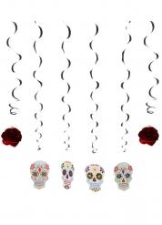 6 Dia de los Muertos plafondecoraties