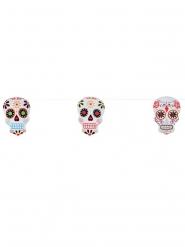 Dia de los Muertos skelet vlaggenslinger