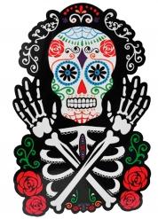 Kleurrijke Dia de los Muertos muurdecoratie