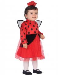 Klein lieveheersbeestje kostuum voor meisjes