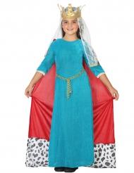 Prinsessenkostuum Middeleeuwen voor meisjes