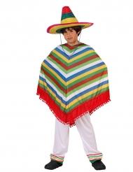 Gestreept Mexicaans kostuum voor kinderen