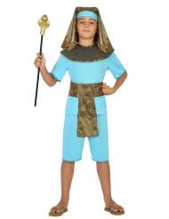 Blauw farao kostuum voor jongens