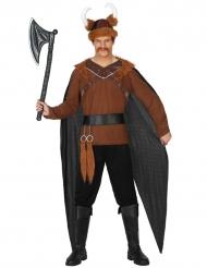 Viking kostuum met cape voor mannen