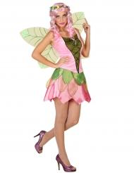 Groene lente fee kostuum voor vrouwen