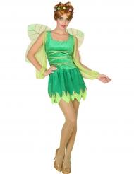Sexy groen feeën kostuum voor vrouwen