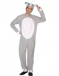 Neushoorn kostuum voor volwassenen