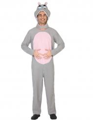 Nijlpaard kostuum voor volwassenen