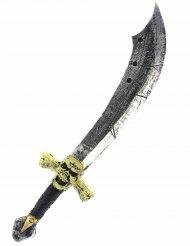 Deluxe piraten zwaard van schuim