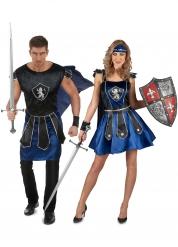 Koppelkostuum blauwe strijders