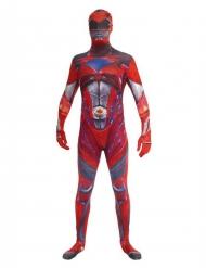 Luxe Morphsuits™ rode Power Rangers™ kostuum voor volwassenen