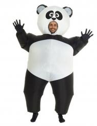 Opblaasbaar Morphsuits™ panda kostuum voor volwassenen