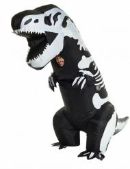 Opblaasbaar Morphsuits™ skelet T-Rex kostuum voor volwassenen