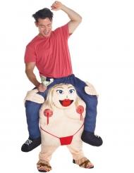 Morphsuits™ stripper carry me kostuum