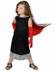 Cruella kostuum voor meisjes