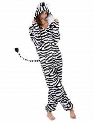 Zebra kostuum voor vrouwen