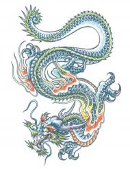 Draak nep tatoeage voor volwassenen