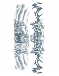 Reaper nep tatoeage voor volwassenen