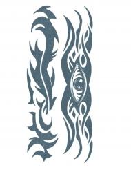 Tribal oog nep tatoeage voor volwassenen