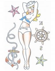 Pin up nep tatoeages voor volwassenen