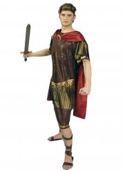 Goudkleurig en bruin gladiator kostuum voor heren