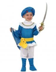 Kleine blauwe prins kostuum voor jongens