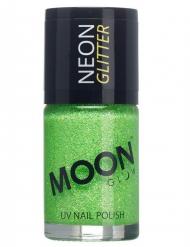 Moonglow© Groene nagellak met fosforescerende glitters