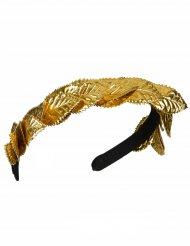 Goudkleurige Caesar lauwerkrans voor volwassenen