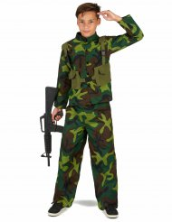 Militair camouflage kostuum voor jongens