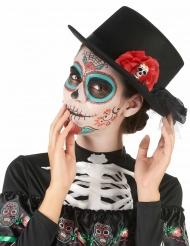 Hoge hoed Dia de los Muertos voor volwassenen