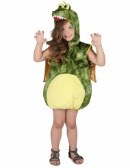 Groene draak outfit voor kinderen