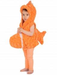 Oranje vis kostuum voor kinderen